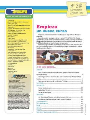 Revista Entre Estudiantes Nº 215