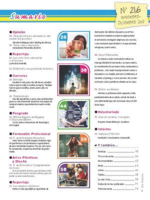 Revista Entre Estudiantes Nº 216