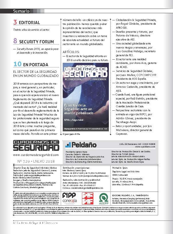 Cuadernos de Seguridad Nº 329