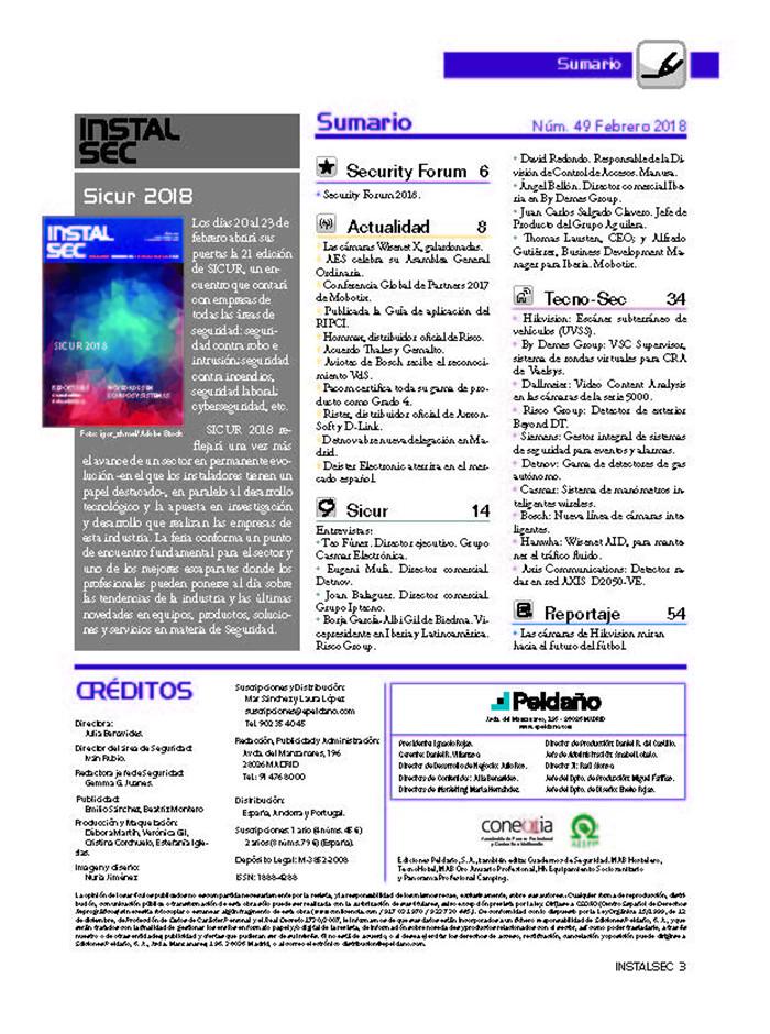 Revista Instalsec Nº 49