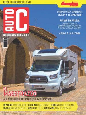 Suscripción 1 año Autocaravanas + Acceso a la APP + Guía de Áreas de Servicio para Autocaravanas (España y Europa) 2018-19