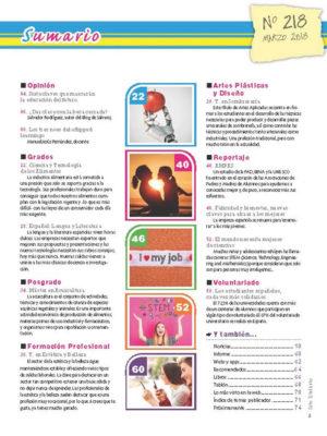 Revista Entre Estudiantes Nº 218