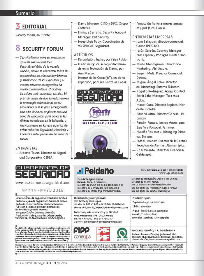 Cuadernos de Seguridad Nº 333