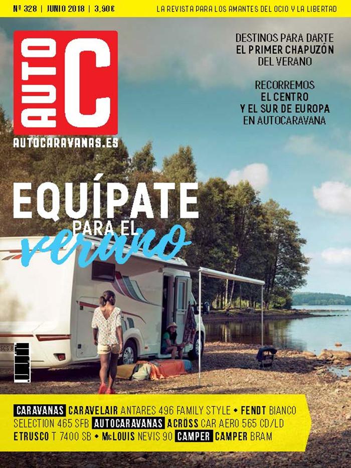 Suscripción 1 año Autocaravanas + Acceso a la APP + Mochila