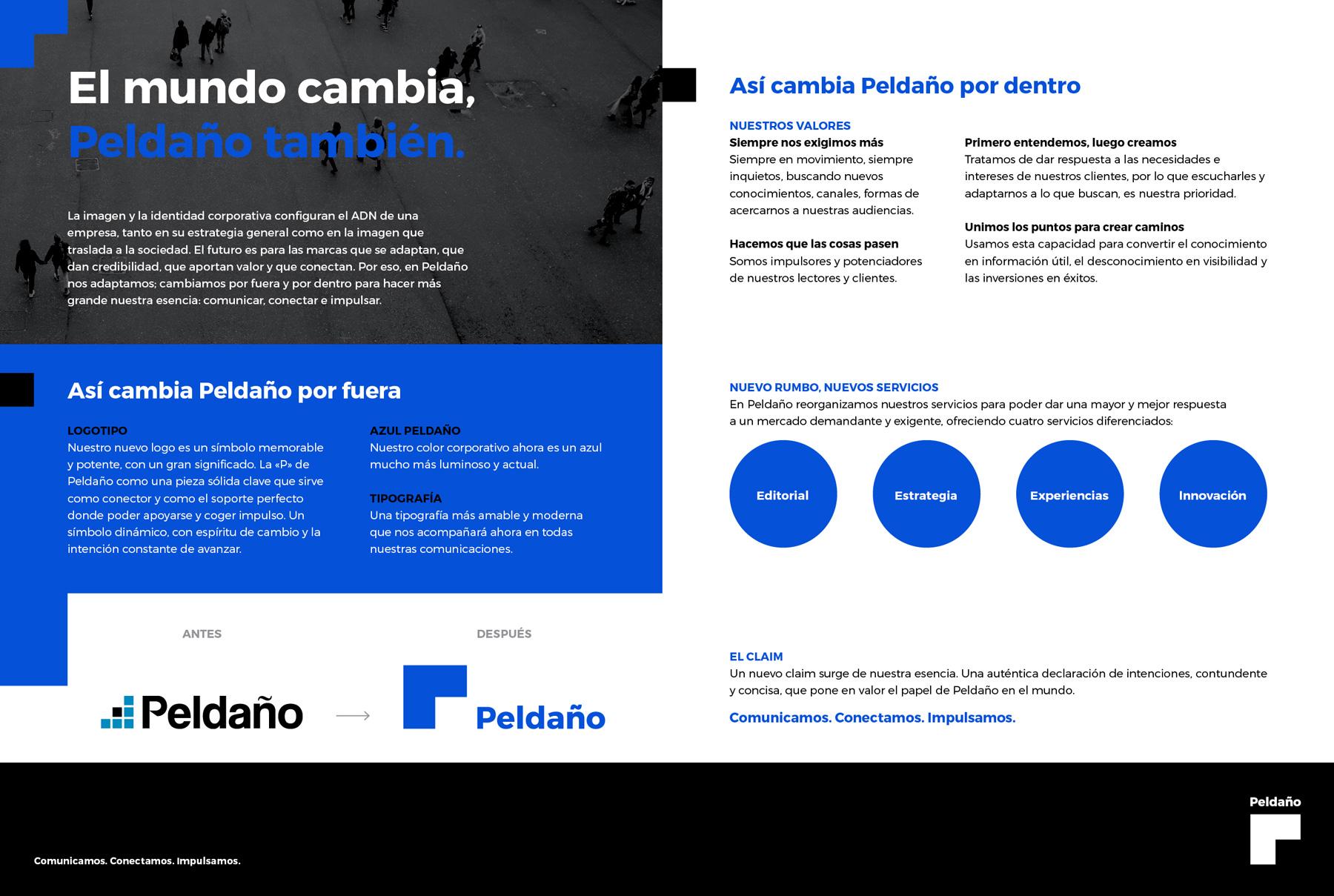 Rebranding Peldaño