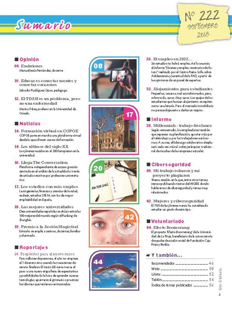 Revista Entre Estudiantes Nº 222