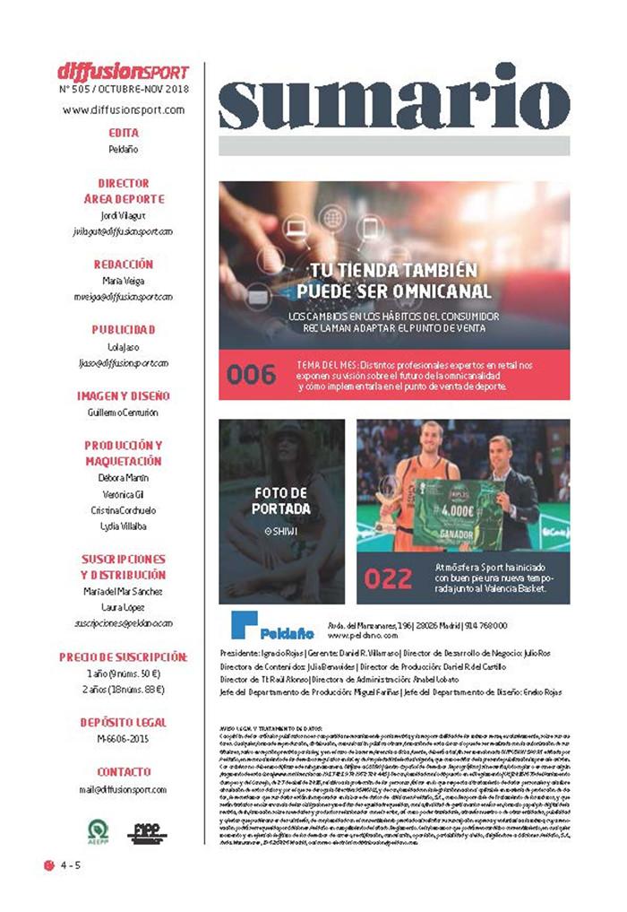 Diffusion Sport Nº 505