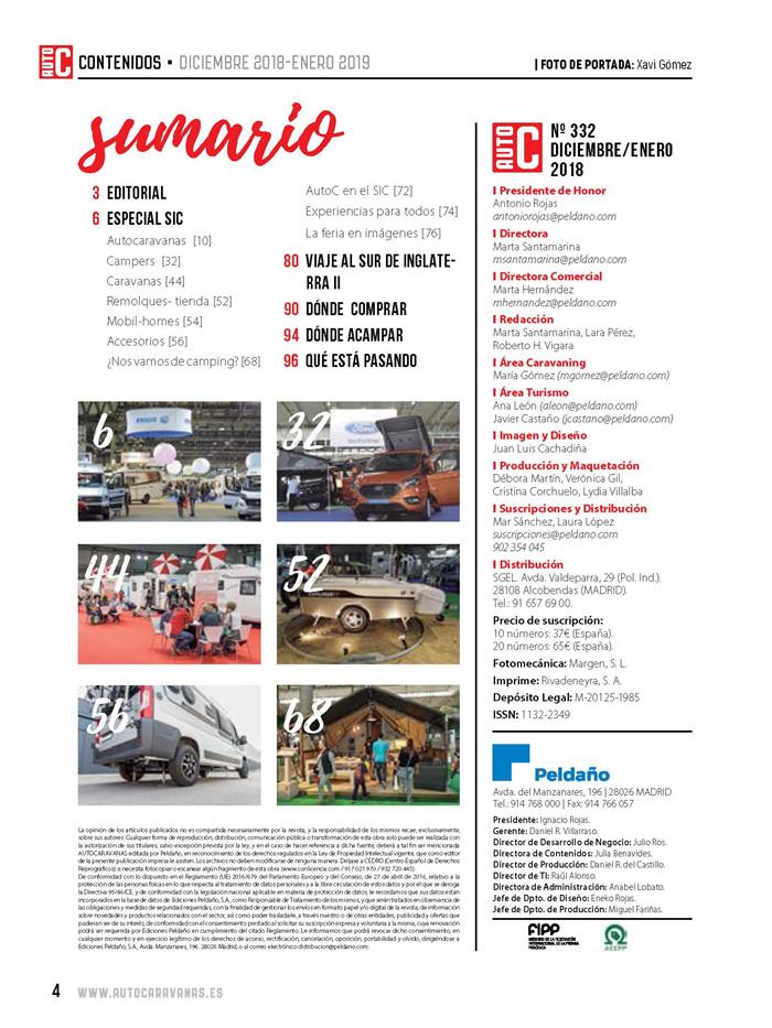 Autocaravanas Nº 332