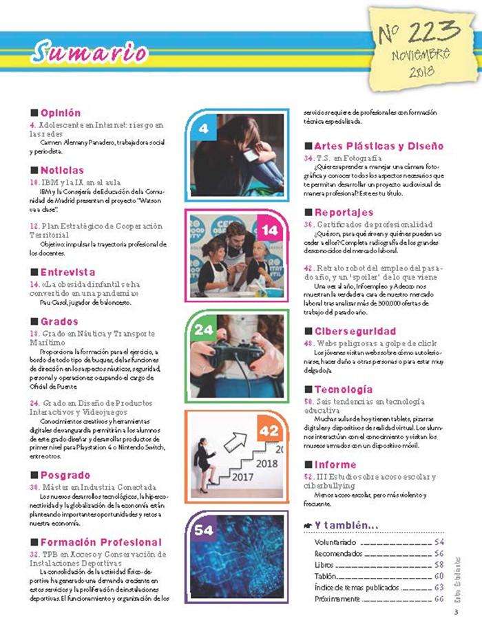 Revista Entre Estudiantes Nº 223