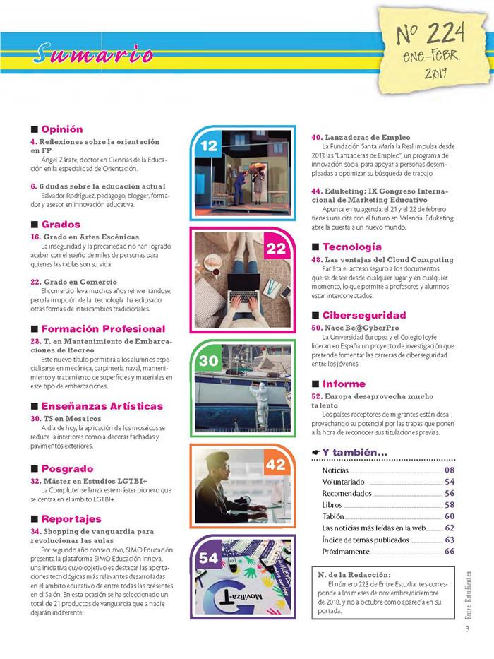 Revista Entre Estudiantes Nº 224