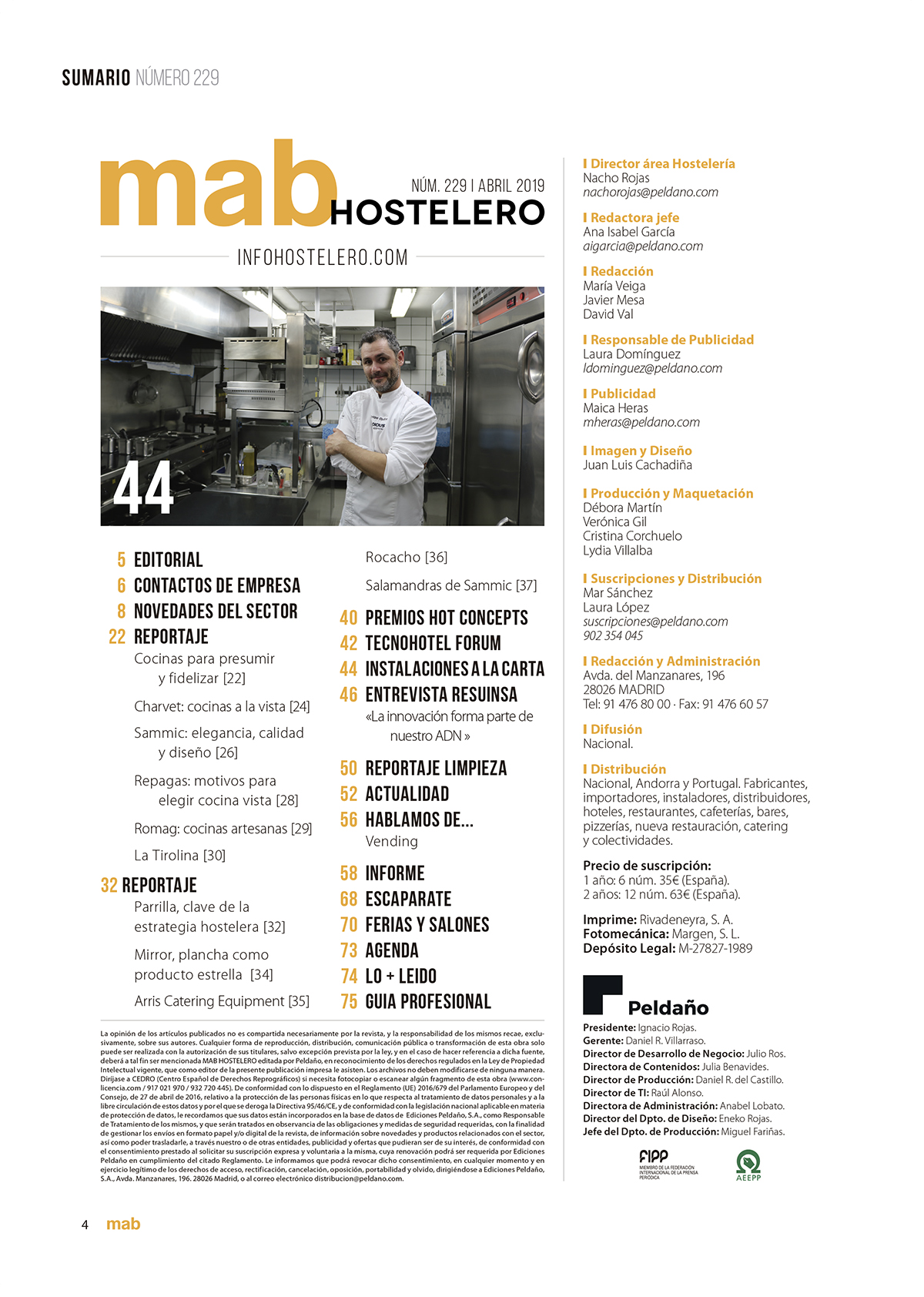 Mab Hostelero Nº 229