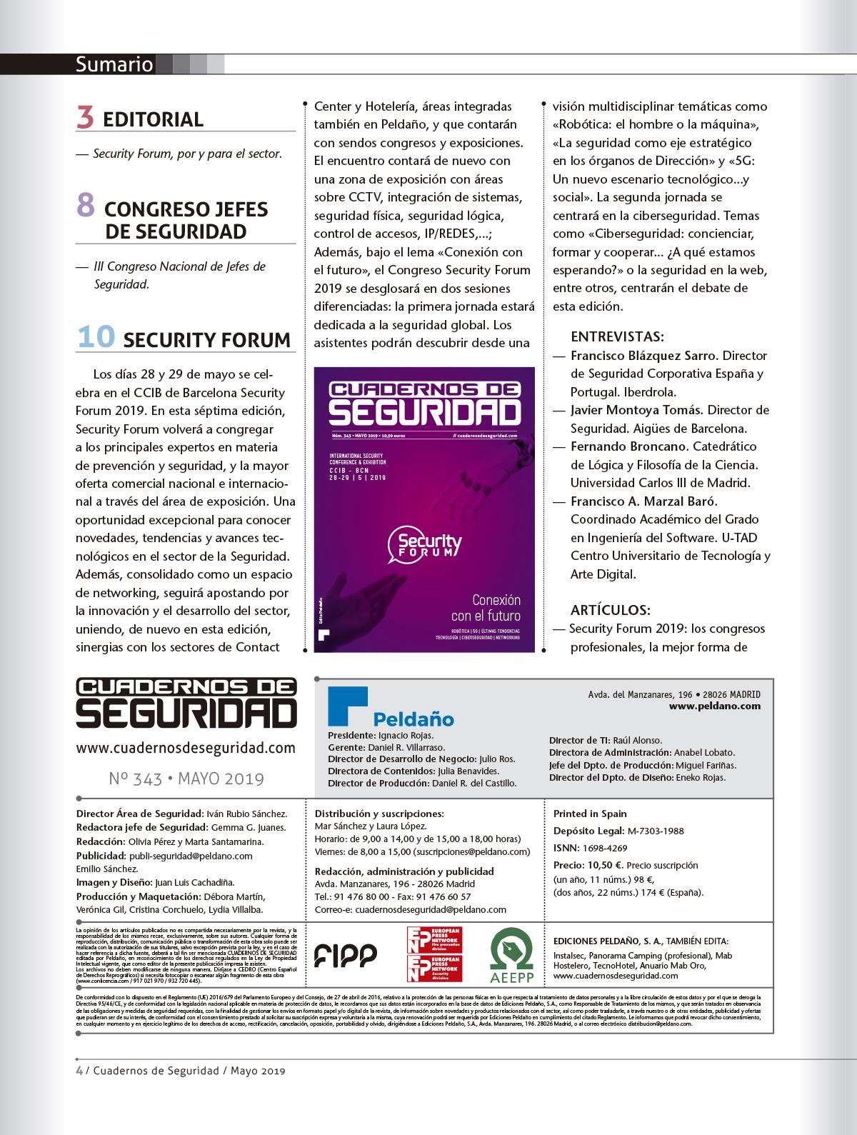 Cuadernos de Seguridad Nº 343