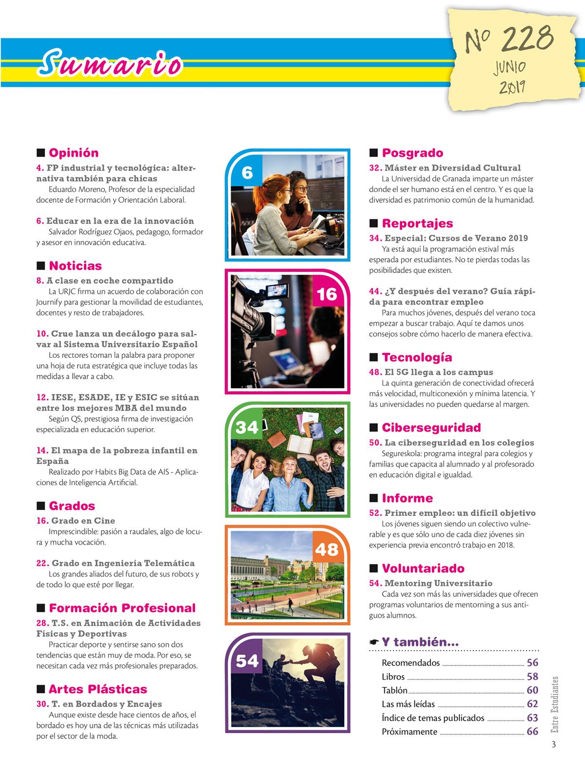 Revista Entre Estudiantes Nº 228