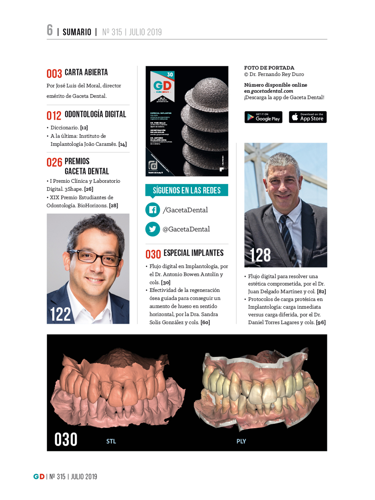 Gaceta Dental Nº 315