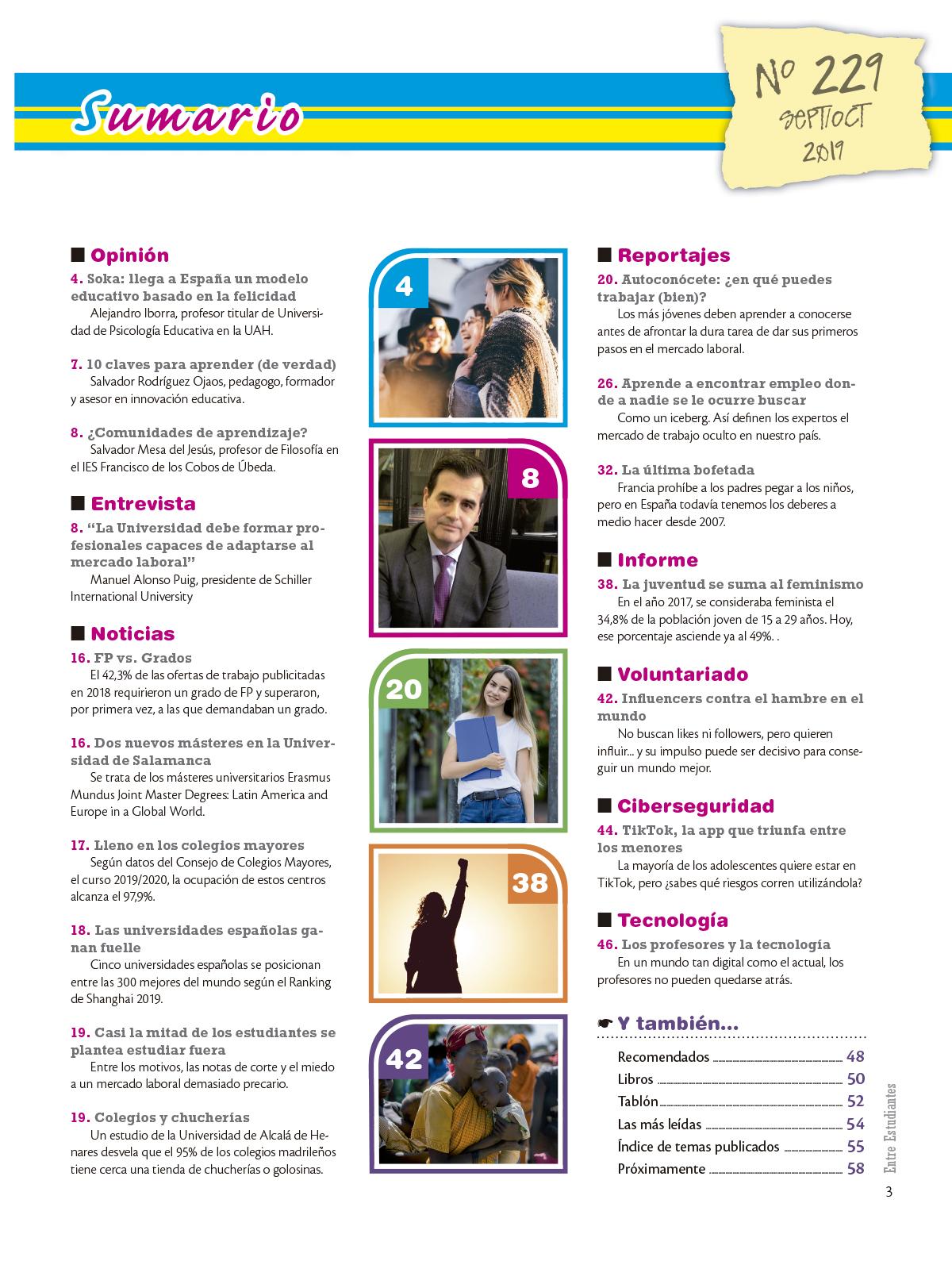 Revista Entre Estudiantes Nº 229