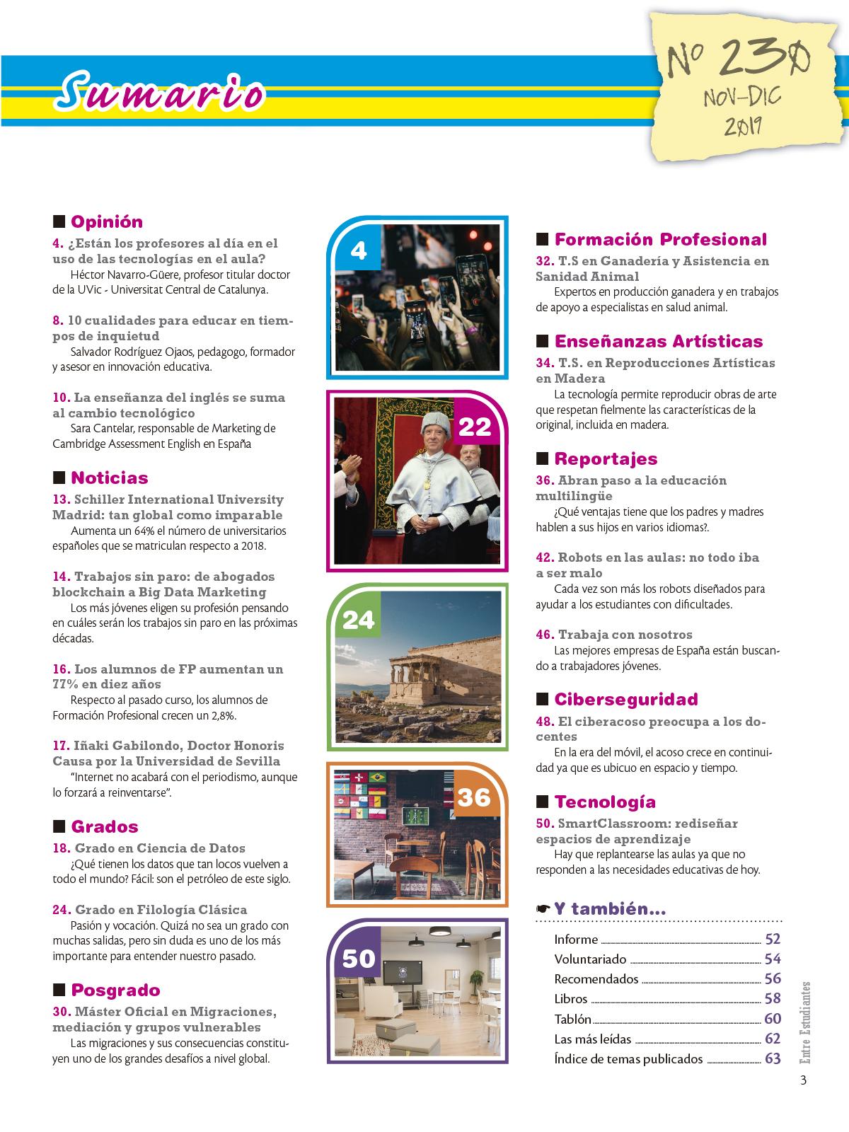 Revista Entre Estudiantes Nº 230