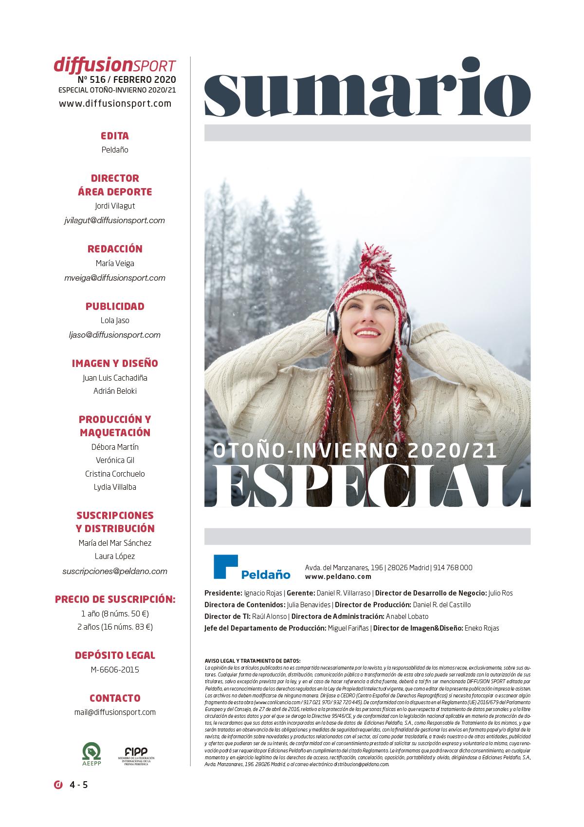 Diffusion Sport Nº 516