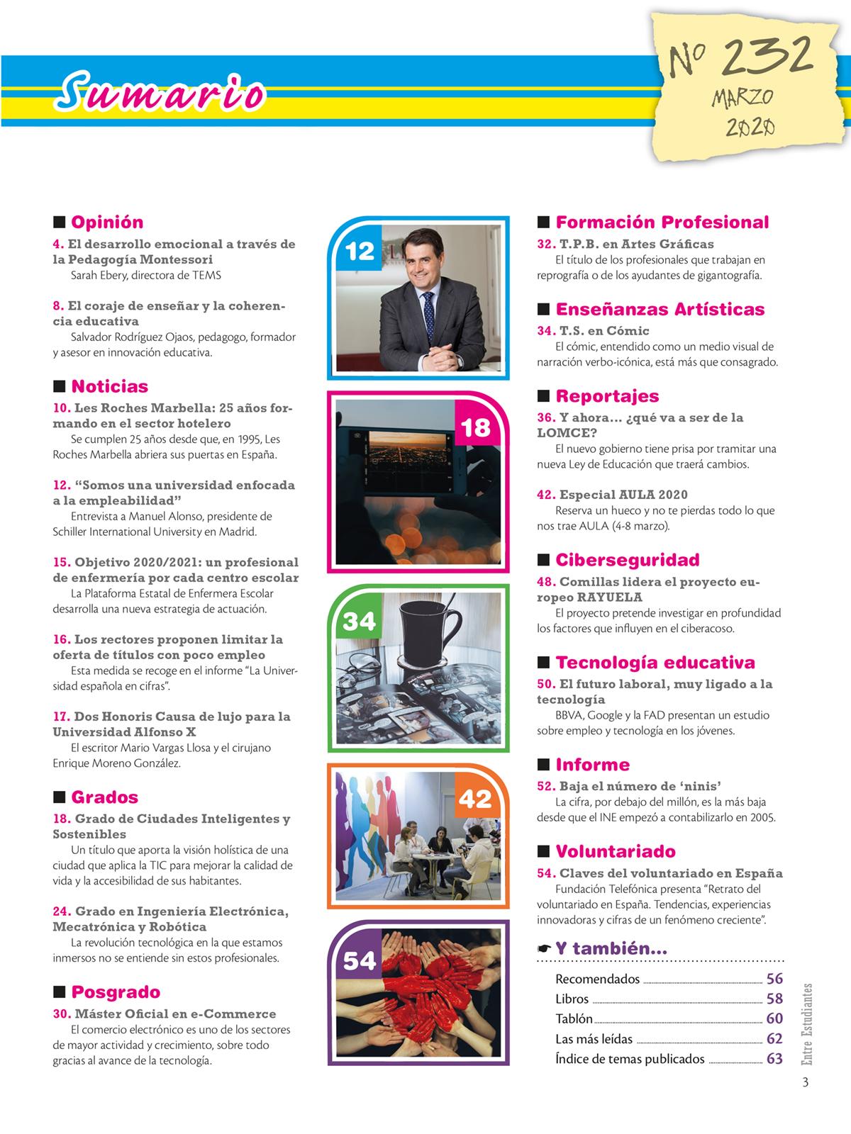 Revista Entre Estudiantes Nº 232