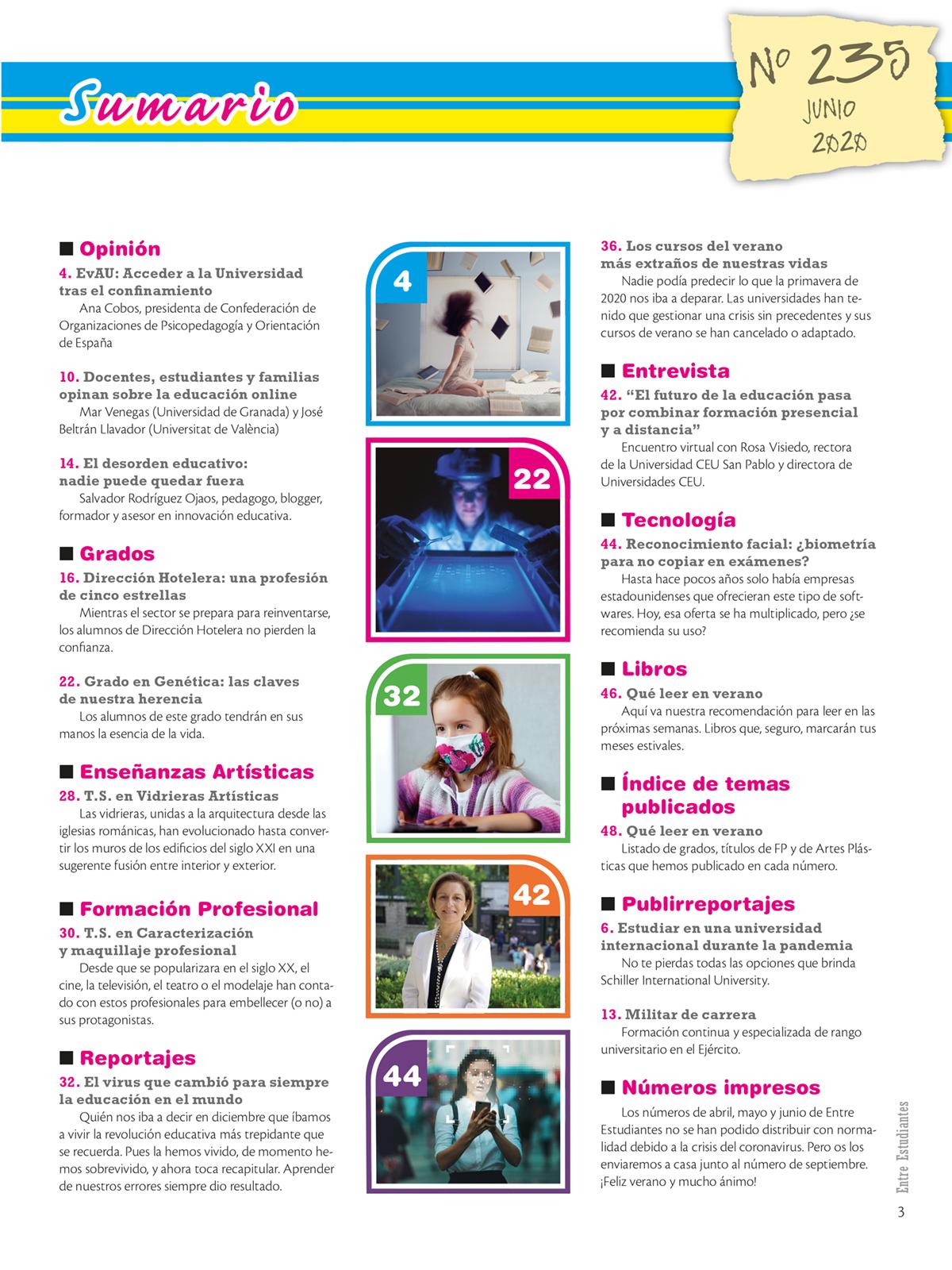 Revista Entre Estudiantes Nº 235