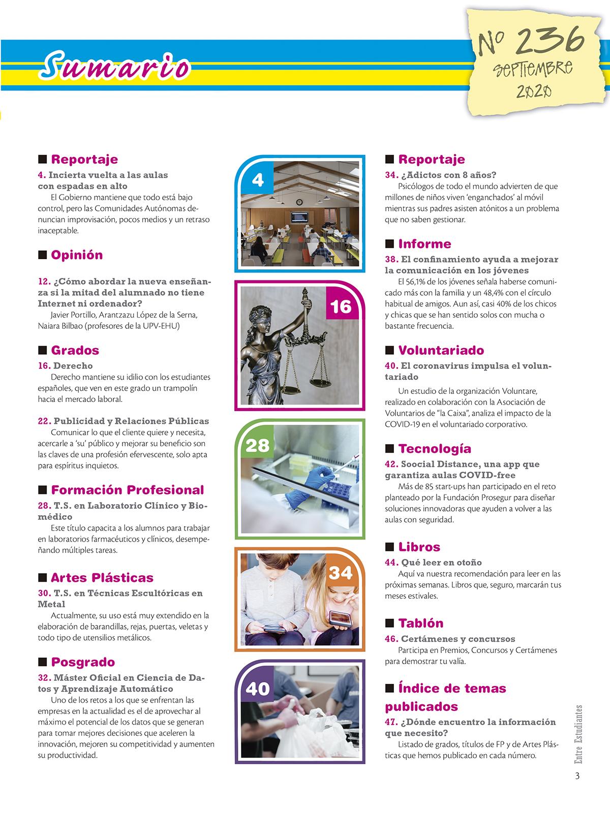 Revista Entre Estudiantes Nº 236