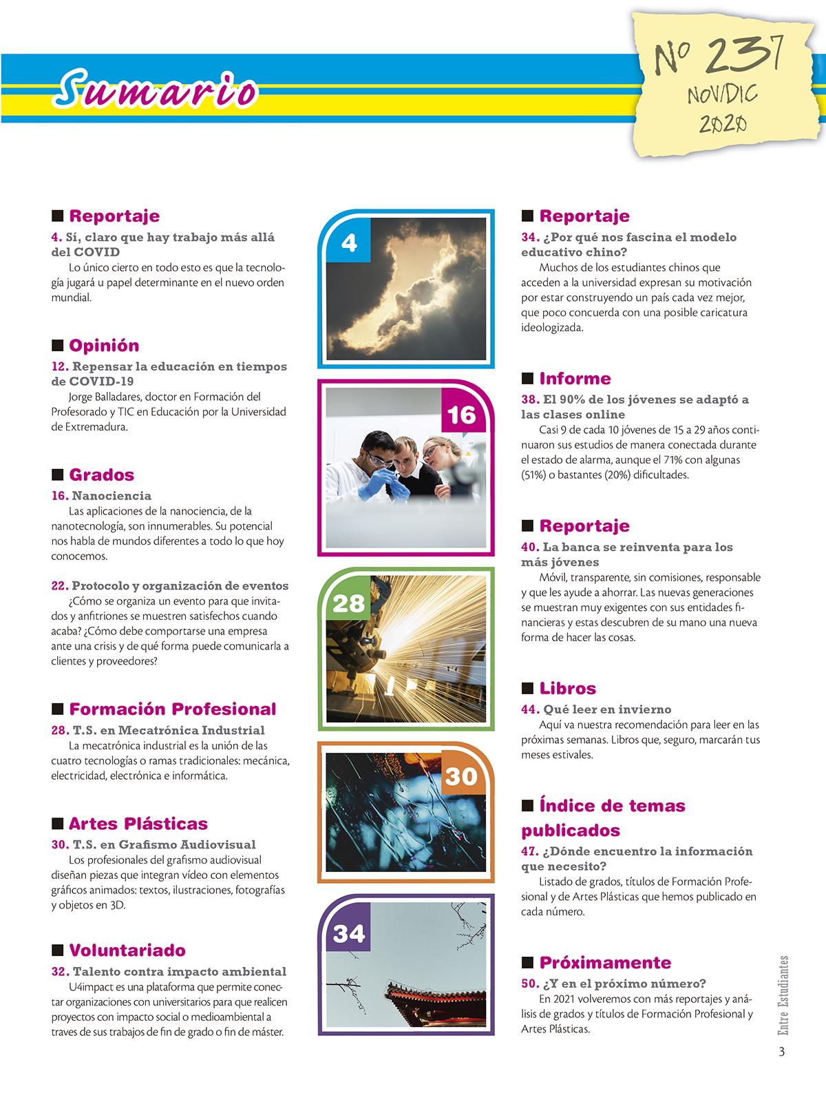 Revista Entre Estudiantes Nº 237