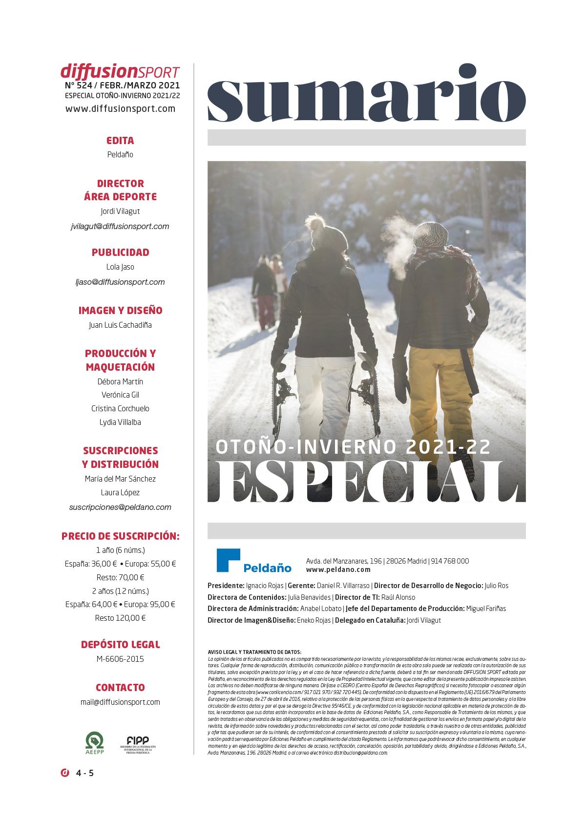 Diffusion Sport Nº 524