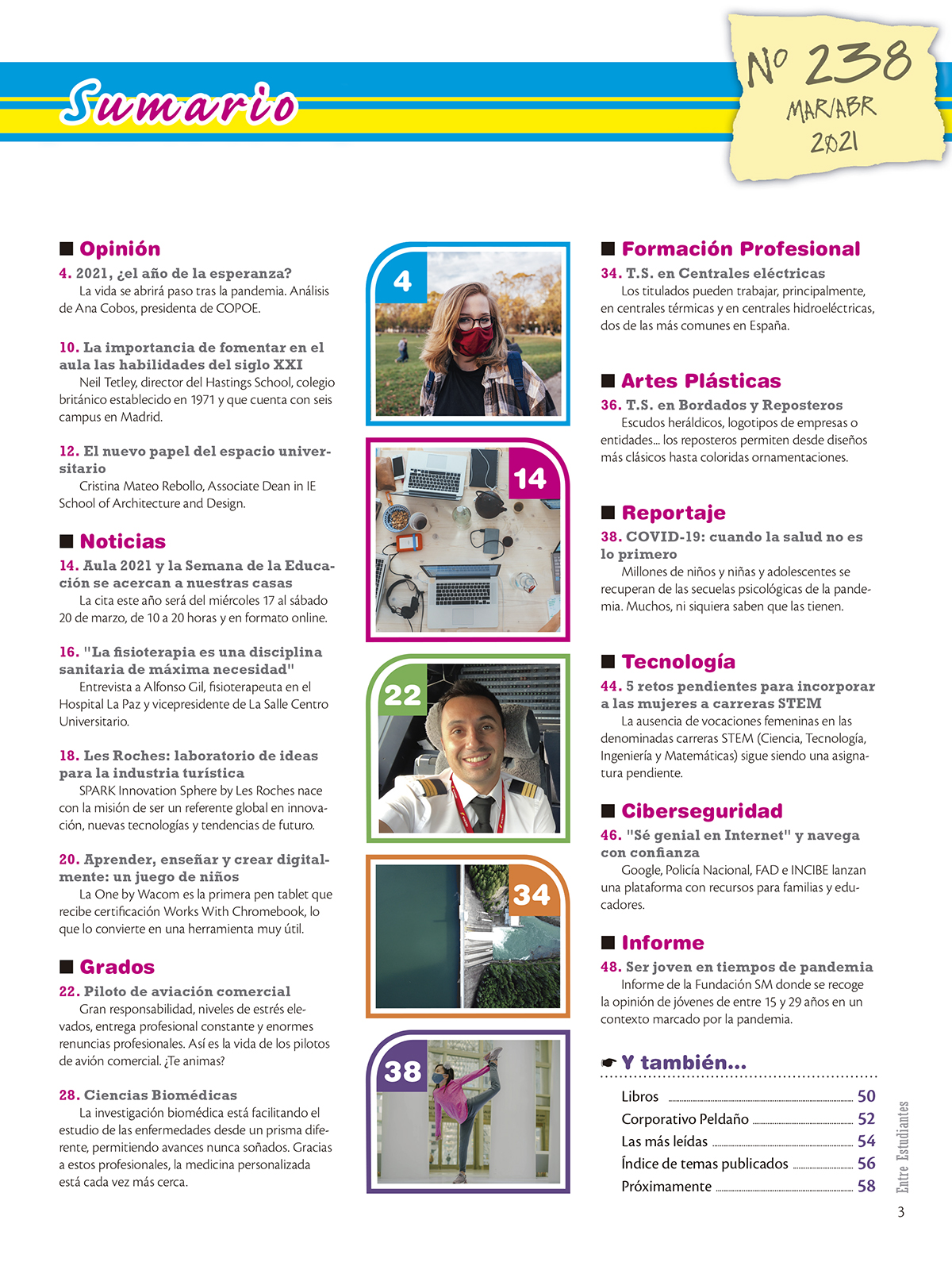 Revista Entre Estudiantes Nº 238