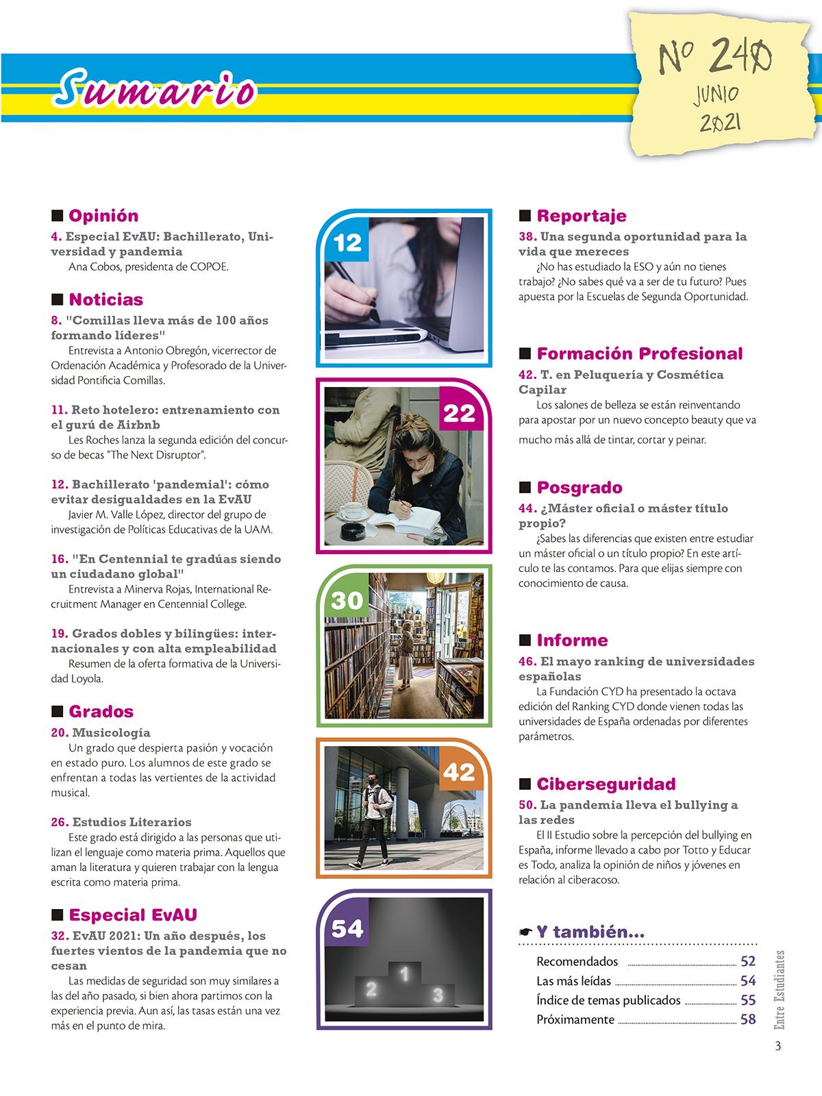 Revista Entre Estudiantes Nº 240