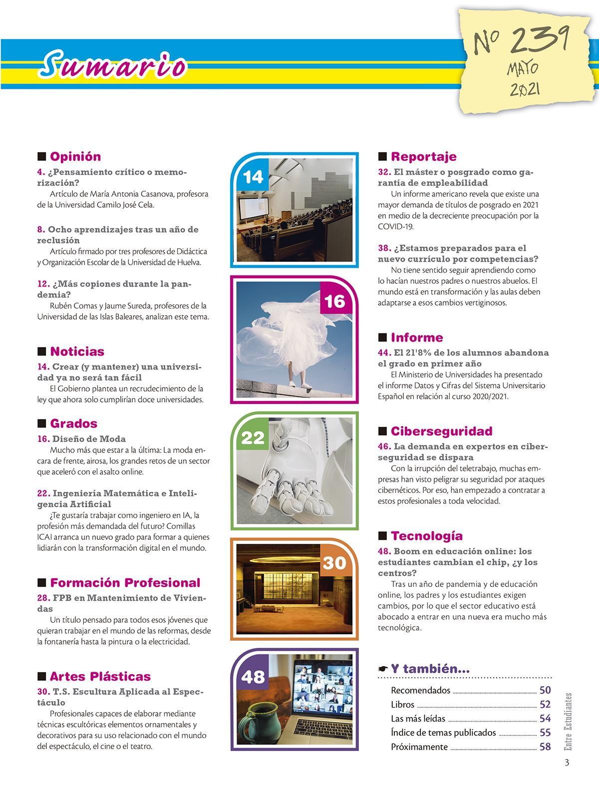 Revista Entre Estudiantes Nº 239