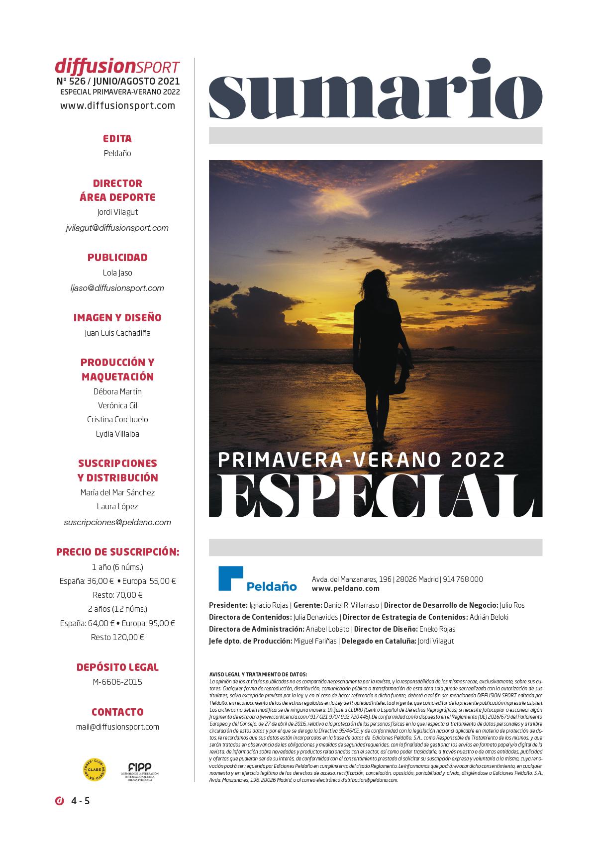 Diffusion Sport Nº 526