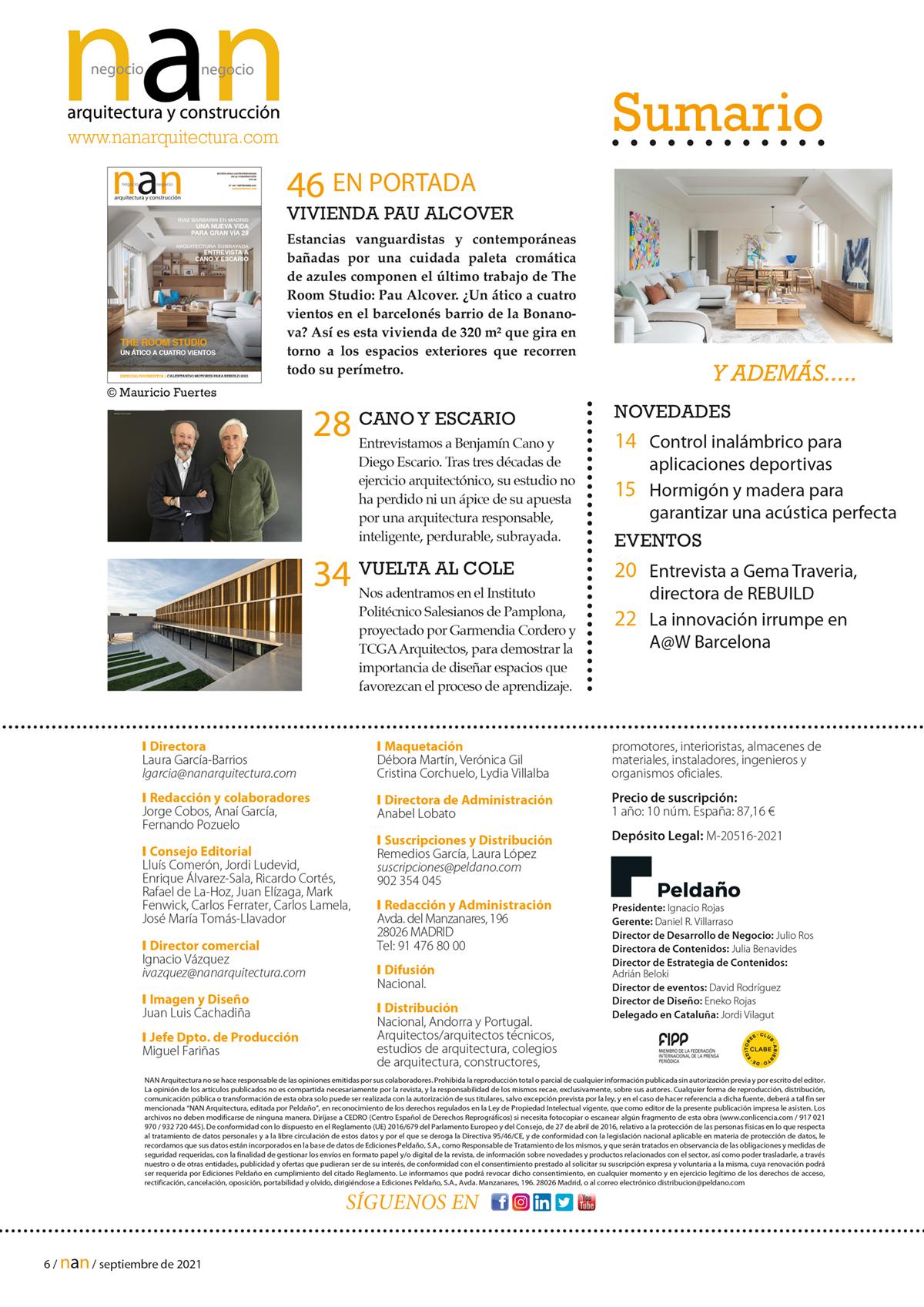 NAN Arquitectura y Construcción Nº 166