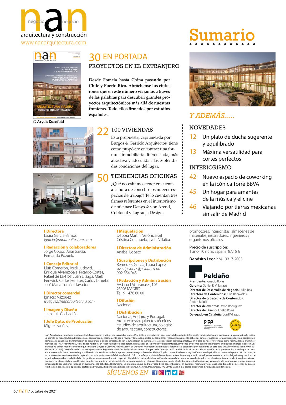 NAN Arquitectura y Construcción Nº 167